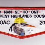 Ho Nan Ne Ho Ont Lodge #165 Delegate Flap