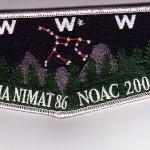 Lodge #86 Nacha Nimat 2004 NOAC Trader Flap