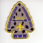 Suanhacky Lodge #49 2004 Event Patch