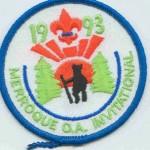 Buckskin Lodge #412 er1993 Merroque OA Invitatational