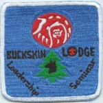 Newly Discovered Buckskin Lodge #412 Event Patch eX19xx-1