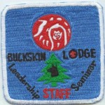Newly Discovered Buckskin Lodge #412 Event Patch Staff eX19xx-2
