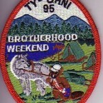 Ty-Ohni Lodge #95 eX2005-3 Brotherhood Weekend