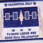 Ty-Ohni Lodge #95 eX2005-4 Fall Fellowship