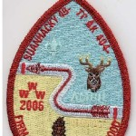 Suanhacky Lodge #49 Katrina Fundraiser Red Mylar Border X32