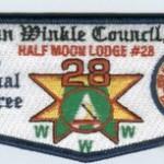 Half Moon Lodge #28 2005 Jamb-O-Ree Prototype Flap YS3