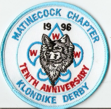 Buckskin Lodge #412 Matinecock Chapter eR1996 Klondike Derby eR1996