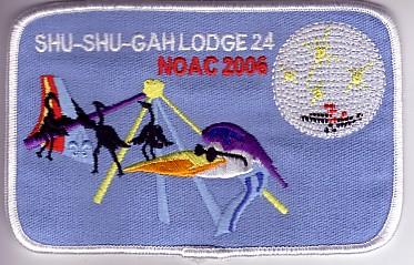 Shu Shu Gah Lodge #24 2006 NOAC Advisors Gift X14