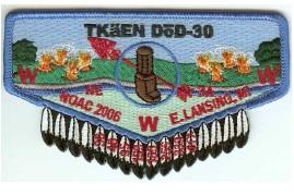 Tkaen DoD Lodge #30 Section NE 3A 2006 NOAC Flap S28