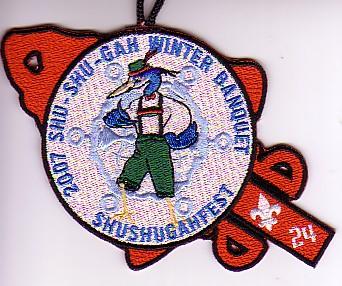 Shu Shu Gah Lodge #24 Event Patch eA2007