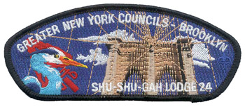 Shu Shu Gah Lodge #24  New CSP X15