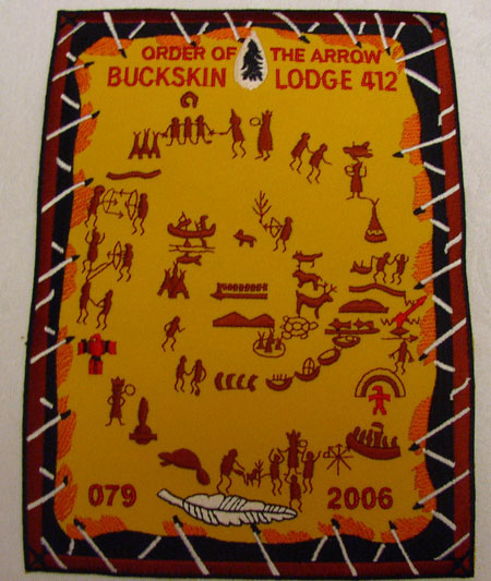 Buckskin Lodge #412 Jacket Patch J6
