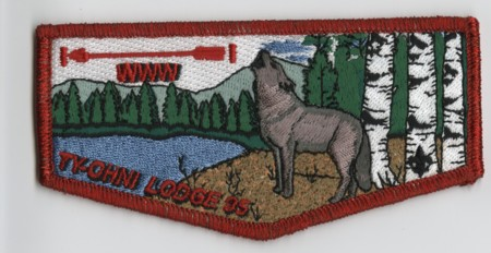 Ty-Ohni Lodge #95 YS1 Flap