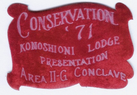 Ko Nosh I Oni Lodge #34 eX1971