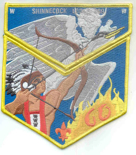 Shinnecock Lodge #360 60th Aniversary Set S34 X13
