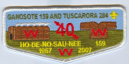 Ho De No Sau Nee Lodge #159 40th Anniversary Issue S41 Officers Issue