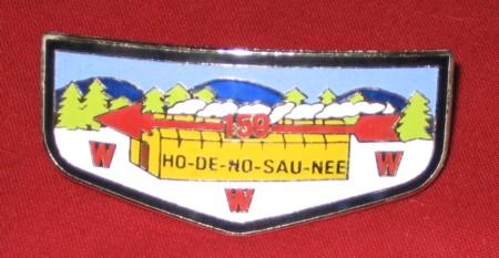 Ho De No Sau Nee Lodge #159 Neckerchief Slide