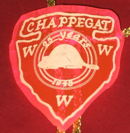 Chappegat Lodge #15 Neckerchief Slide 25th Anniversary