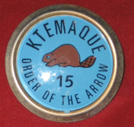 Ktemaque Lodge #15 Neckerchief Slide