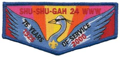 Shu Shu Gah Lodge #24 S37