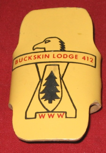 Buckskin Lodge #412 Neckerchief Slide L5