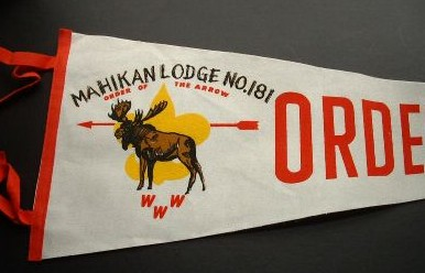 Mahikan Lodge #181 Pennant