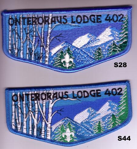 Onteroraus Lodge #402 S28 and S44 Vigil Flaps