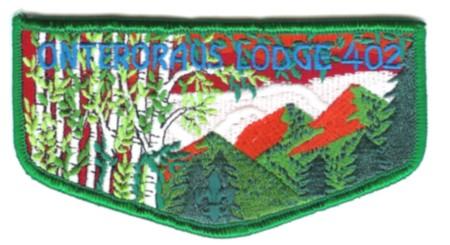 Onteroraus Lodge #402 S47 Brotherhood Flap