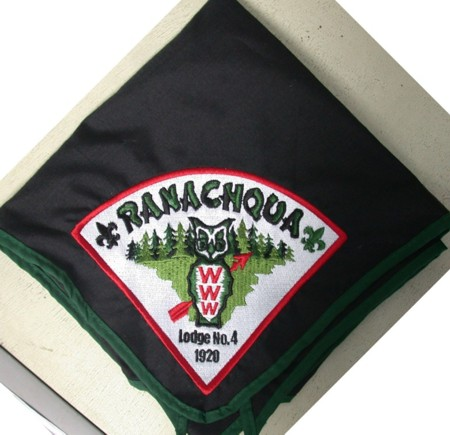 Ranachqua Lodge #4 Neckerchief N15 Sewout