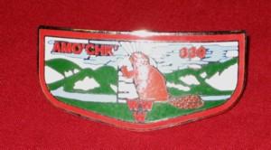 Amo'Chk' Lodge #339 Flap-Shaped Neckerchief Slide