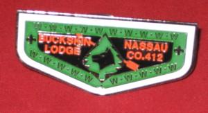 Buckskin Lodge #412 Neckerchief Slide