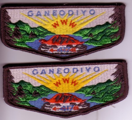 Ganeodiyo Lodge #417 S1a and S1b varieties