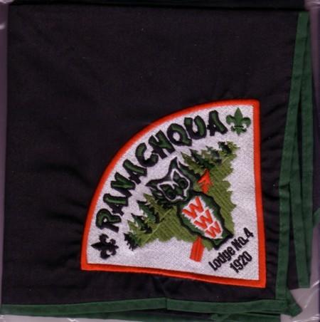 Ranachqua Lodge #4 New Neckerchief N15