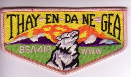 Thay-En-Da-Ne-Gea Lodge #418 Oddity YS1