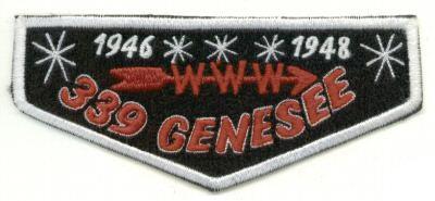 Genesee Lodge #339 Fake Flap ZS1