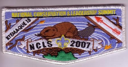 Ktemaque Lodge #15 National Conservation & Leadership Seminar Flap S37