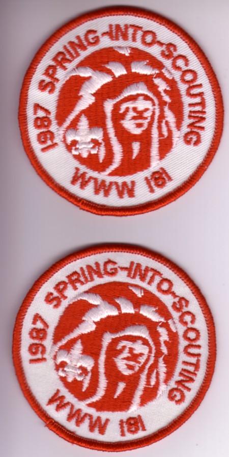 Nischa Nimat Lodge #181 eR1987a TRM and eR1987b TLS varieites