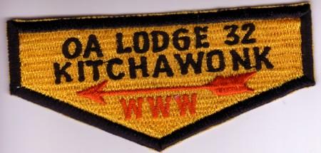 Kitchawonk Lodge #32 Fake Flap ZS2