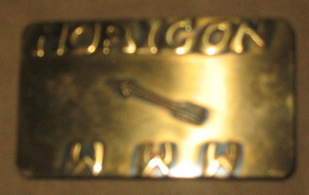 Horicon Lodge #246 Belt Buckle