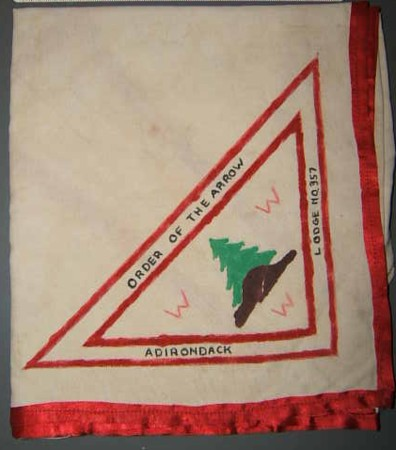Adirondack Lodge #357 Neckerchief? or Private Issue?