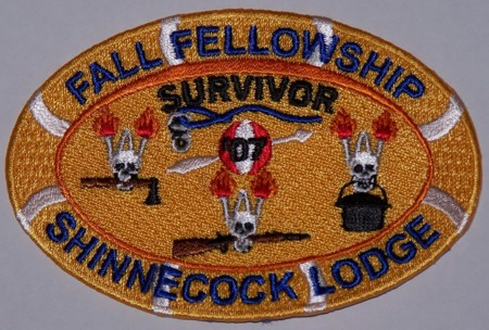 Shinnecock Lodge #360 Fall Fellowship Patch eX2007