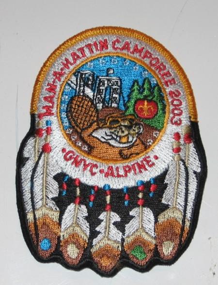 Man-A-Hattin Lodge #82 Camporee Event Issue eR2003-1