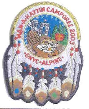 Man-A-Hattin Lodge #82 Camporee eR2003-2 Staff Issue