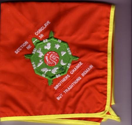 Section NE-3B 1998 Conclave Neckerchief