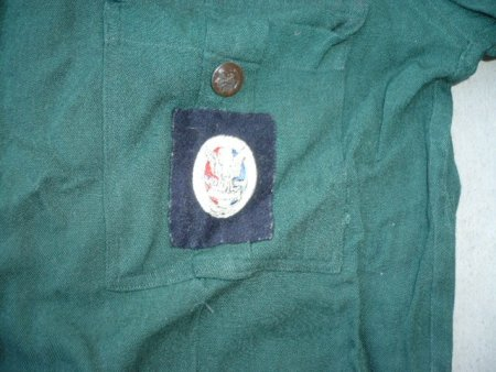 EAGLE BADGE is Type 1 1925 - 1932 Blue