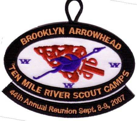 hu Shu Gah Lodge #24 Brooklyn Arrowhead eZX2007