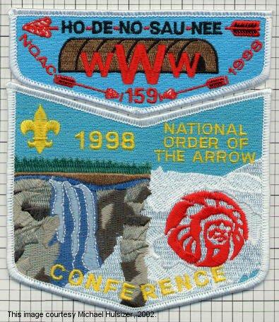 Ho De No Sau Nee Lodge #159 S18 X5