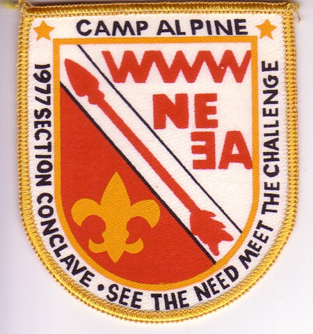 Section NE-3A 1977 Section Conclave Patch