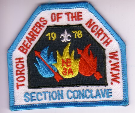 Section NE-3A 1978 Section Conclave Patch