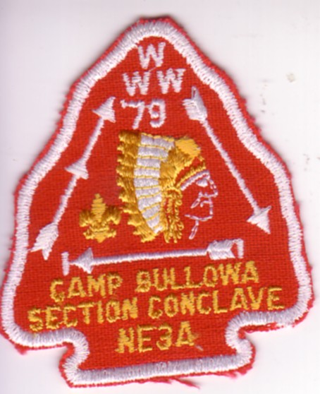 Section NE-3A 1979 Section Conclave Patch
